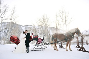winter-wedding-bride-groom-sleigh-rebekah-westover
